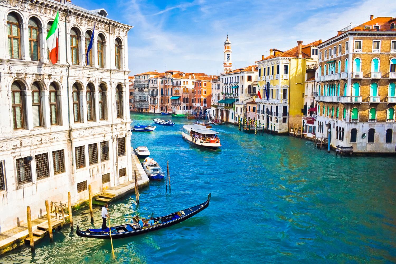 Grand kanál, Benátky v Itálii