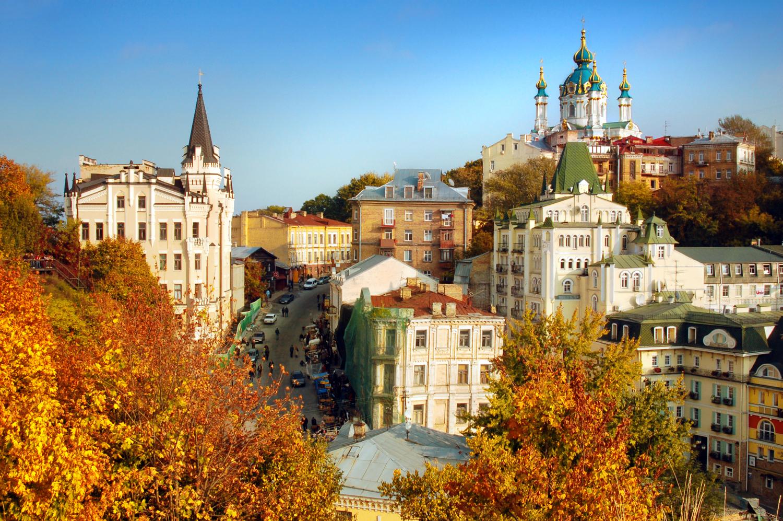 Podzimní město